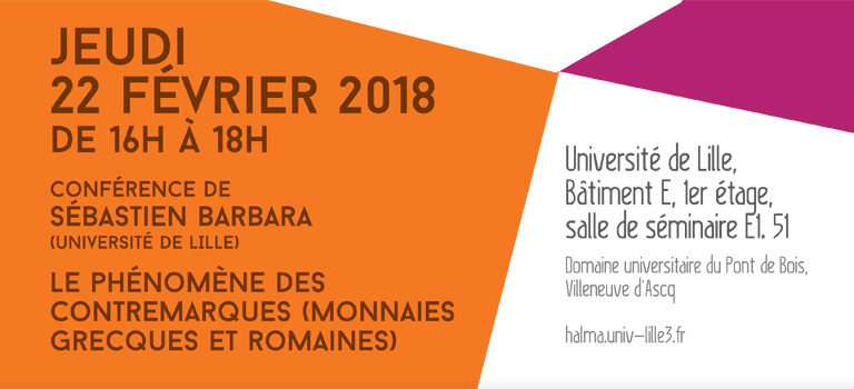 Atelier d'épigraphie et de numismatique (22 février 2018)