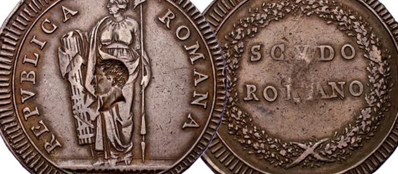 Monnaies satiriques au XIXe s.