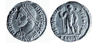 Quelques observations sur le monnayage en bronze de l'empereur Procope