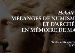 Mélanges de numismatique et d'archéologie en mémoire de Marc Bar