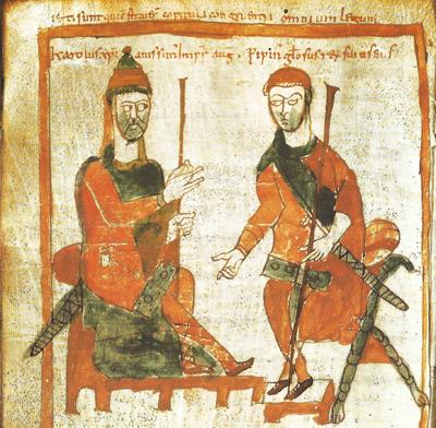 L'imagerie du pouvoir de Charlemagne à partir d'un denier à son effigie