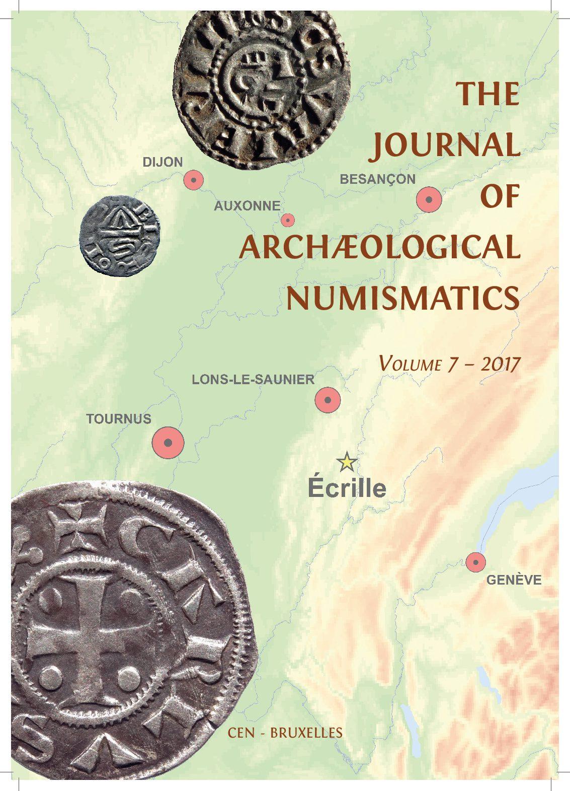 the journal of arch ological numismatics volume 7 2017 cercle d 39 tudes numismatiques. Black Bedroom Furniture Sets. Home Design Ideas
