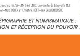 Atelier d'épigraphie et de numismatique (14 décembre)