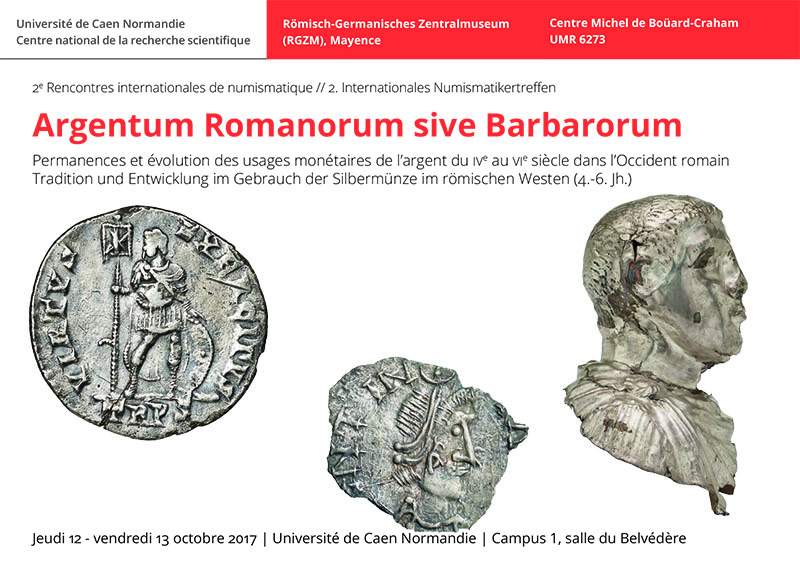 2e Rencontres internationales de numismatique