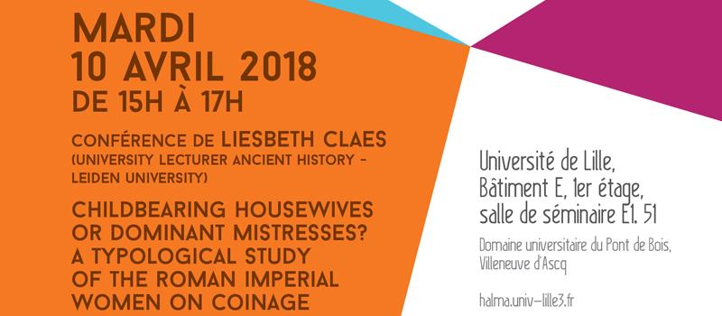 Conférence de Liesbeth Claes baner