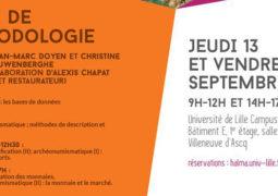 Atelier d'épigraphie et de numismatique (13-14 septembre)
