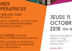 Atelier d'épigraphie et de numismatique (11 octobre 2018)