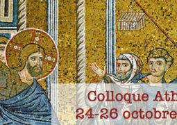 Colloque Athènes, 24-26 octobre 2019