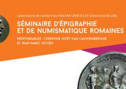 Séminaire d'épigraphie et de numismatique Romaines (12 et 13 septembre 2019)